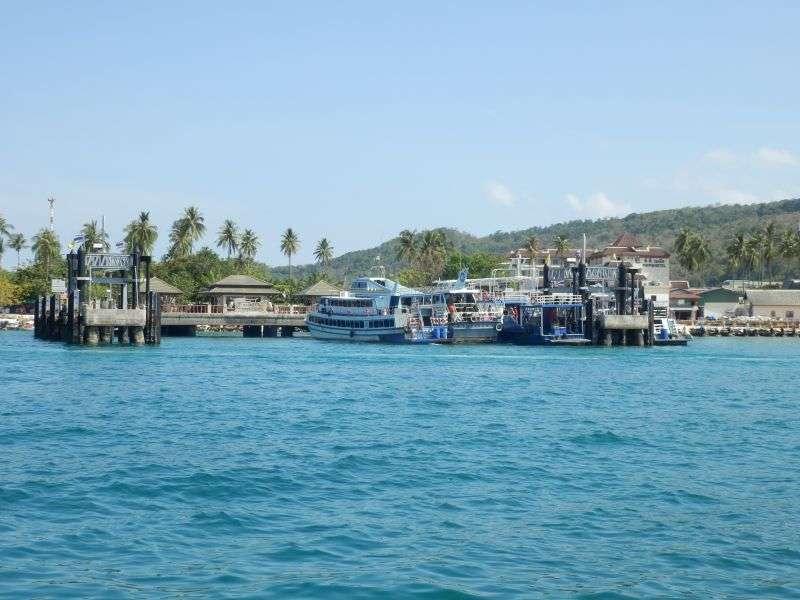 der Pier auf Koh Phi Phi