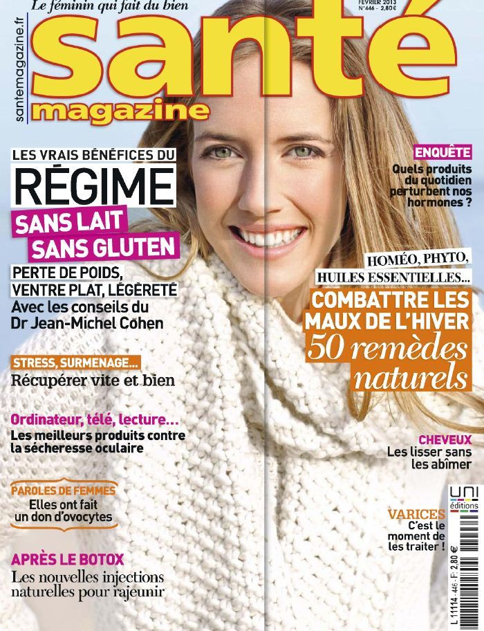 Santé Magazine N°446 Février 2013