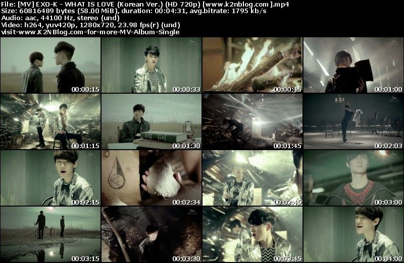 [MV] EXO-K - WHAT IS LOVE (Korean Ver.) (HD 720p Youtube)