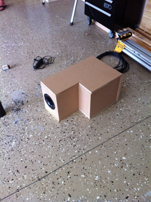 X1 Bow Subwoofer Box Diagrams