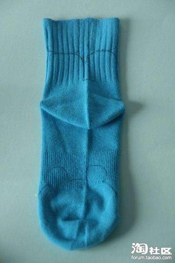 58394838 - Manual para hacer ositos de peluche con calcetines viejos