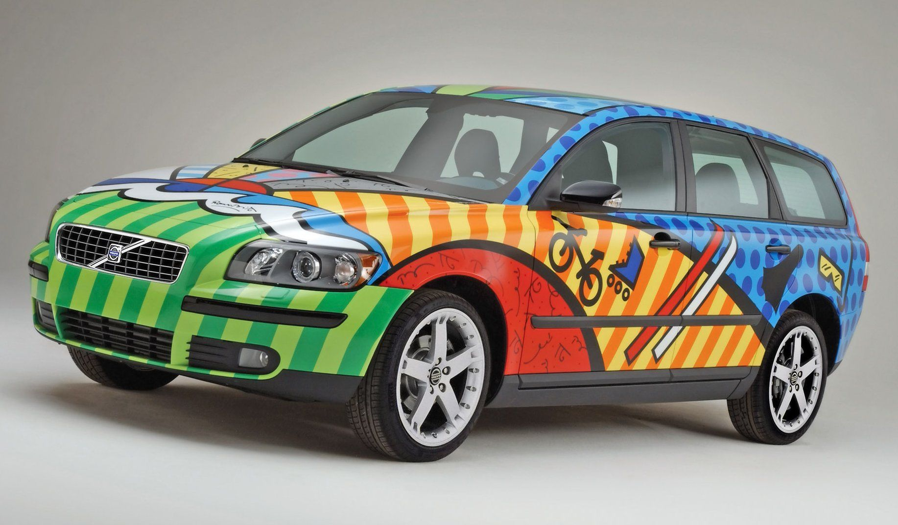 Art car volvo www galleryhip com the hippest pics