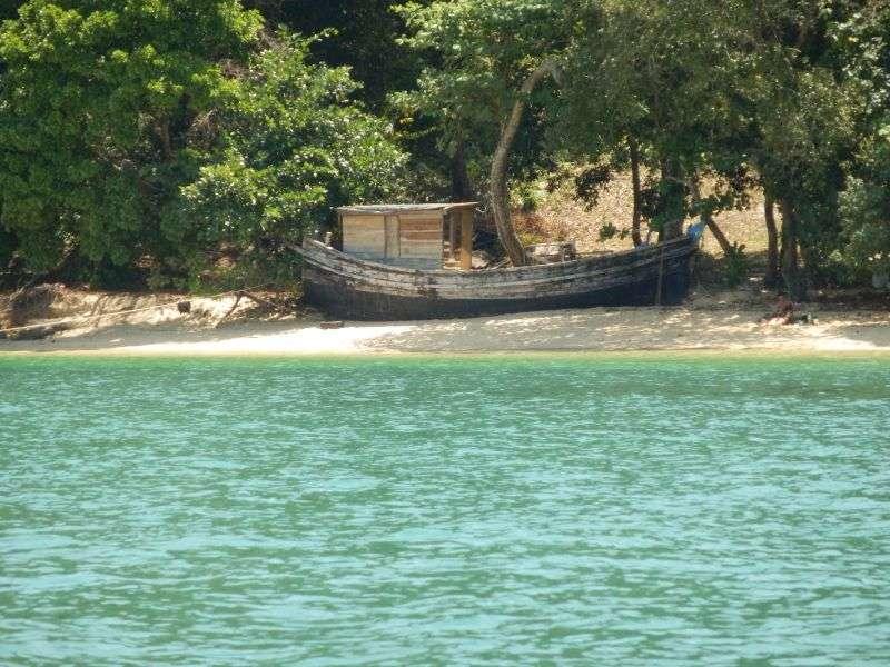hier nochmal das Bungalow-Boot am Aow Kwang Peeb