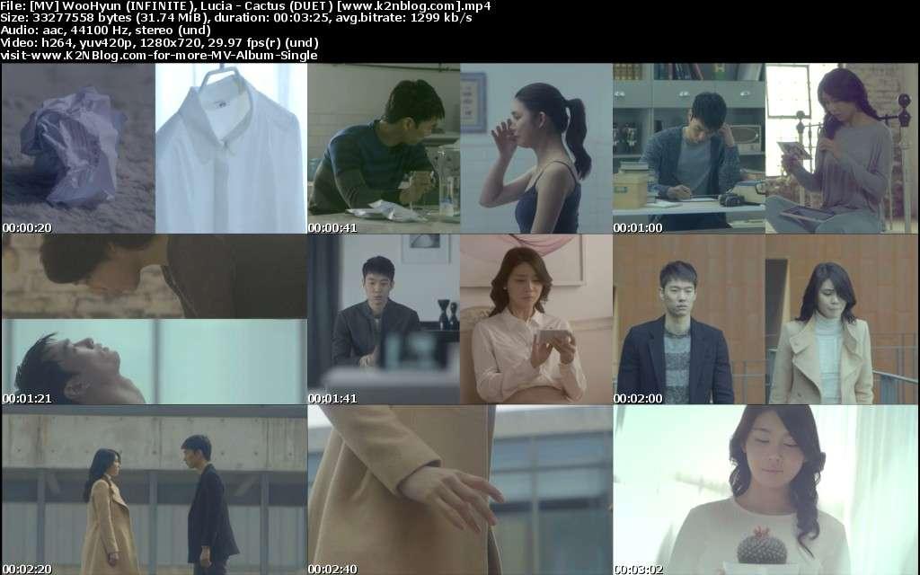 [MV] WooHyun (infinito), Lucia - Cactus (dueto) [HD 720p Youtube]