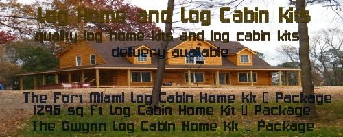 log home kits click here