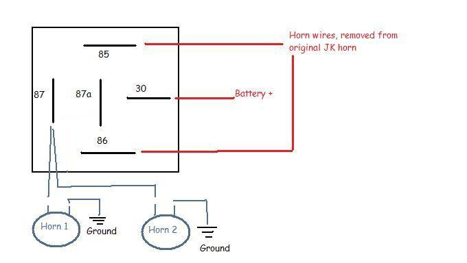 Jeep Wrangler Horn on Wiring - All Diagram Schematics on