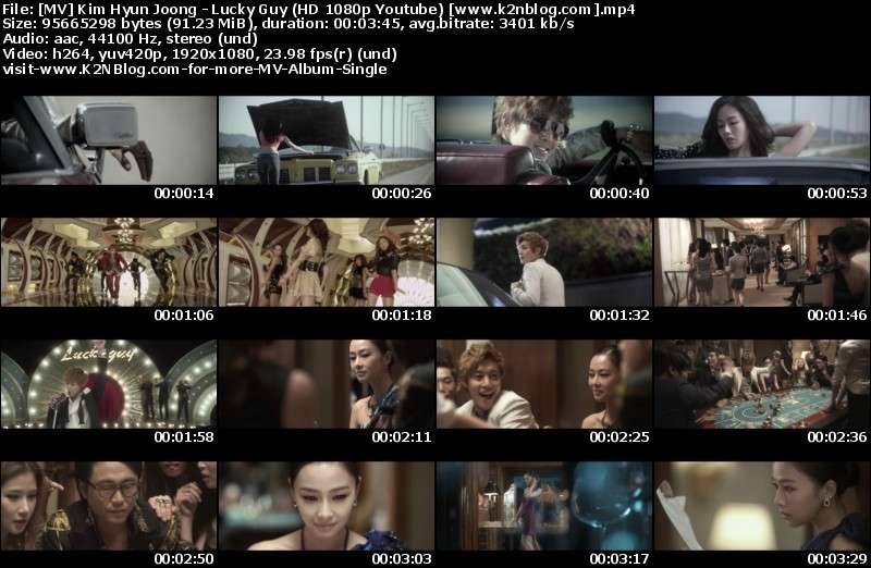 MV Kim Hyun Joong - Lucky Guy HD 1080p MV Thumbnail
